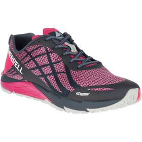 Merrell Bare Access Flex Shield - Zapatillas running Mujer - rosa/negro